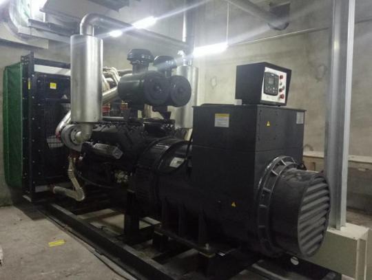 知名地产600KW上海凯普发电机组