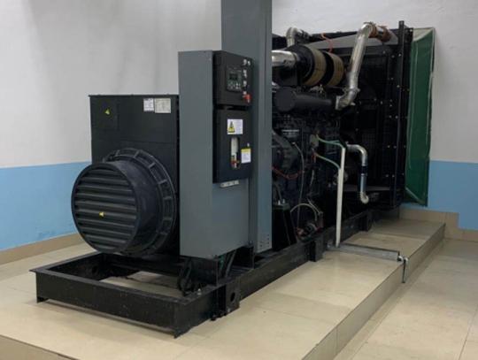 国内知名地产企业600KW上柴股份发电机组