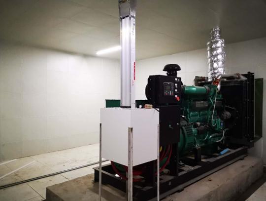 知名地产400KW通柴发电机组