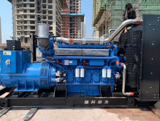 知名地产企业800KW玉柴发电机组
