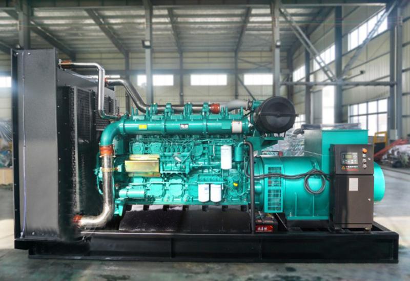 600KW玉柴柴油发电机组