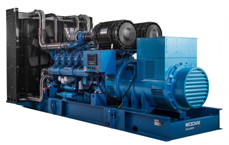 640KW潍柴柴油发电机组