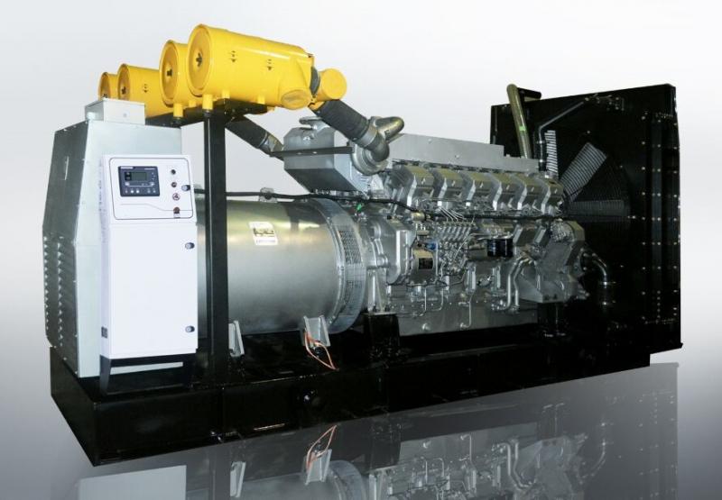 550KW上柴柴油发电机组